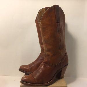 Frye cowboy western vintage boots